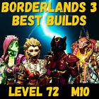 (PS4/5 PC XBOX) BORDERLANDS 3 - BEST BUILD AMARA FLAK MOZE ZANE - LEVEL 72