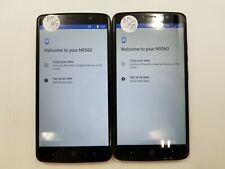 Lot of 2 Google Locked ZTE Max XL N9560 Boost Mobile Check IMEI GLC 3-317
