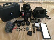 Panasonic Lumix G7 Mirrorless Camera (Videographer Kit) w/ Zhiyun 3 Axis Gimbal