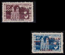 VIETNAM du NORD N°3/4** Cathédrale d'Orléans,1945-1948, North Viet Nam MNH NGAI
