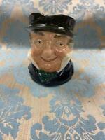 Vintage Royal Doulton Cap'n Cuttle Character Toby Jug
