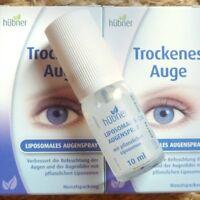 Hübner Trockenes Auge Liposomales Augenspray auf geschlossene Augen, befeuchtet