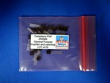 Transistors PNP 2N3906 General Purpose Amplifier and switching LOT of 20 pieces
