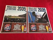 2009-2011 MLB Chicago Cubs scorecard / You pick 'em / Lee / Soriano / Ramirez