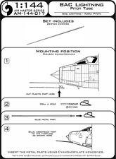 BAC LIGHTNING METAL PITOT TUBE #144-017 1/144 MASTER