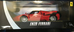 1:18 Ferrari Enzo Hot Wheels Elite Red Rare Limited Edition 1/18 Diecast.