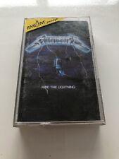 Metallica - Ride The Lightning CASSETTE MC