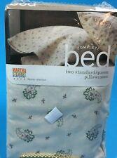 Martha Stewart Pillowcases Paisley Collection Standard/Queen
