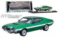 GREENLIGHT 1:43 Fast & Furious 4 1972 FORD GRAND TORINO GREEN  86218