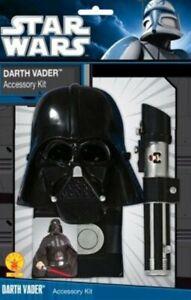Darth Vader accessory kit, adult fancy dress