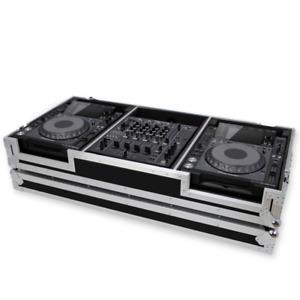 """Gorilla Cases Pioneer CDJ & 12"""" Mixer DJ Coffin Flight Case CDJ-2000 / DJM900"""