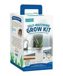 NEW - Back To The Roots: Hydroponic Succulent & Cactus Grow Kit, Self Watering