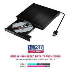 USB 3.0 Externer SuperDrive DVD Brenner DVD-R DVD-RW CD-R CD-RW DVD Writer&Read