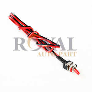Mini Small Toggle Switch Wires On/Off Metal Automotive Boat Car Truck