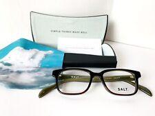 SALT Optics Freddy TWDMOS Tweed Moss Eyeglass Frames Men Women Authentic Japan