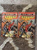 The Cougar #2 July 1975 Atlas Comics Lot Of 2