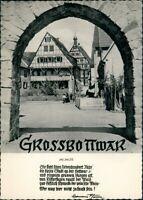 Großbottwar Tor Durchblick am Dorf Platz Text & Photo H. Blume 1960