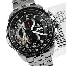 IMPORTED CASIO EDIFICE EF558-1AV DAY DATE LUXURY BLACK CHRONGRAPH MEN WATCH
