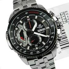 IMPORTED CASIO EDIFICE ANALOG CHRONOGRAPH DAY-DATE MENS WATCH EF-558D-1AV