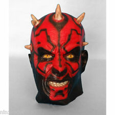 Darth Maul Star Wars Demon Latex Mask High Quality Halloween Costume
