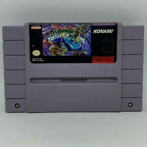 Teenage Mutant Ninja Turtles IV: Turtles in Time (Super Nintendo, 1992)