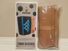 2 count Sparthos Thigh Compression Sleeves Quad Hamstring * New Tan 2Xl (3Xl)