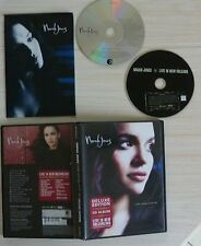 DELUX EDITION CD ALBUM NORAH JONES COME AWAY WITH ME + DVD LIVE IN NEW ORLEANS