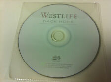 WESTLIFE - Back Home Música CD ÁLBUM 2007 - Disco sólo en Plástico Manga