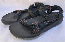 TEVA Unisex Blue Orange Waterproof Ankle Strap Sport Sandals Size M8 W10