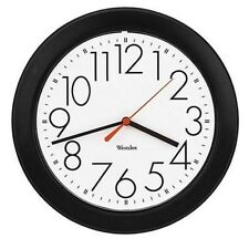 Westclox Ventura Wall Clock, Black