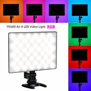 YN300 Air II LED Video Light 3200K-5600K RGB Studio Camera Light Remote Cotrol