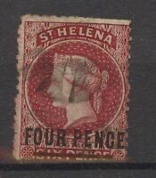 Stamp St. Helena 1864 SG8a, used, #2043
