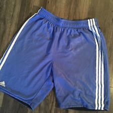 NBA Fusion Adidas Basketball Practice Shorts Blue Large Authentic Free Shipping
