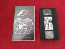 Formula 1 99 Championship Season Review VHS Video tape, 1999. Formula One
