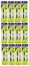CASE of 12 - Zebra R-Refill Plens-Rollerball Pen Refills, R-Refill, 2/PK, Blue