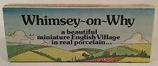 Wade England 1980's Porcelain Miniature Village Whimsey On Why Set #4 Mint Box
