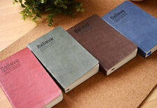 """""""Believe"""" Mini Pocket Notebook Travel Notepad Note Book Memo Diary Planner #B"""