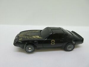Vintage Bachmann SUPERTRAX 1/32-1/43 scale SLOT CAR Black Pontiac Firebird