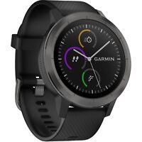 Garmin Vivoactive 3 GPS Smartwatch Black/Gunmetal *DETAILS*