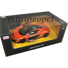 RASTAR 75100 R/C RADIO REMOTE CONTROL CAR MCLAREN P1 1/14 ORANGE