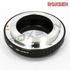 Nikon S Rangefinder lens to Micro 4/3 M4/3 adapter Panasonic GF6 Olympus E-P5