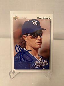 Mark Gubicza autographed Baseball Card Kansas City Royals 1992 Upper Deck #459