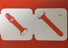 NEW Apple Watch Hermes Sport Band 38mm Orange Strap