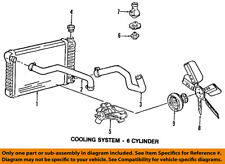 GM OEM Radiator-Upper Hose 15659488