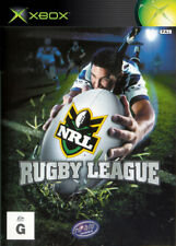 Rugby League Xbox (Original) Game USED