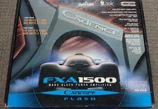 Cadence FXA 1500, 1-Channel Mono Power Amplifier, FX PLUS Series