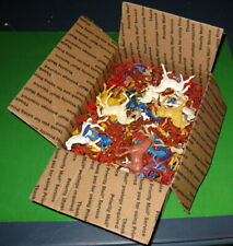 HUGE LOT OF VINTAGE MPC WILD WEST COWBOYS AND INDIANS FILLING A FLAT RATE BOX!