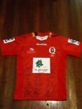 Queensland reds signed rugby jersey xl