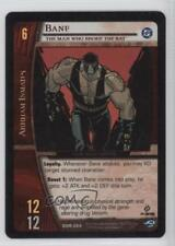 2004 VS System DC Origins #DOR-064 Bane (The Man Who Broke the Bat) Card q0l
