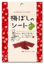 Japanese Umeboshi Pickled Plum taste Sheet 14g x 6 bags From Japan